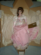 """THE GIBSON GIRL - TEA AT THE RITZ Franklin Mint Heirloom Porcelain 22"""" Doll"""