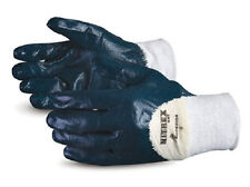 12 new SUPERIOR #GNT-(10 XL) Nitrex Nitrile Coated Palm Gloves cut-resistant
