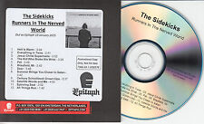 THE SIDEKICKS Runners In The Nerved World Dutch promo test CD + press release