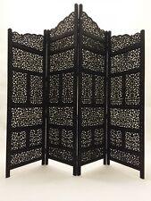 Orient Orientalischer Indische Holz Paravent Raumteiler Trennwand spanische wand