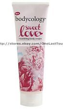 BODYCOLOGY Body Cream SWEET LOVE Nourishing Lotion MOISTURIZING  8oz NEW!
