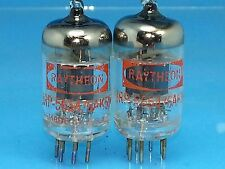 RAYTHEON JRP 5654 6AK5 VACUUM TUBE BLACK PLATE 62s MIL SPEC SWEET LITTLE DOT Y04