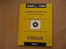 Manual De Taller Sistema Propulsión Diagnóstico Jeep Grand Cherokee 1993 - 1994