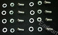 AUSTIN MORRIS 1100, 1300 CHROME BUMPER BOLTS X 8