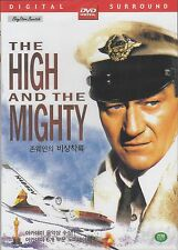 THE HIGH AND THE MIGHTY  ALL REGION NEW DVD