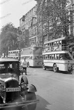Photo negativ-Berlin-1936-Olympiade-Doppeldeckerbus-Bus-59