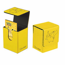PIKACHU FLIP BOX POKEMON TCG ULTRA PRO MAGNETIC DECK BOX CARD BOX