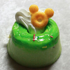 Doll Size Decorated Cake Food SD MSD Mini Dollfie BJD American Girl green foam