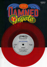 THE DAMNED  Gigolo / The Portrait  Import red vinyl 45 with POSTER PicSleeve
