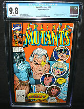 New Mutants #87 - 1st Appearance of Cable - CGC Grade 9.8 - 1990