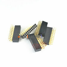 20PCS 2.54mm pitch 2x10Pin Header Right Angle Female Double Row Socket Connector