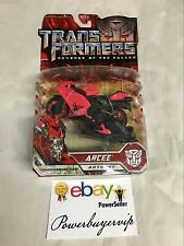 NEW Transformers Revenge of the Fallen Deluxe RED ARCEE Decepticon 2 DAY GET