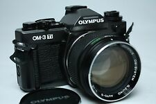 Olympus OM-3Ti SLR Film Camera with 55mm f1.2 Lens from Japan Near Mint!