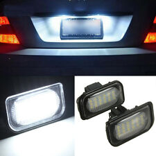2X No Error 18LED SMD License Plate Light For 05-10 Benz W20 W203 W211 W219 R171