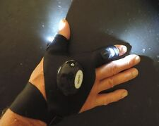 Glove Light for Night Time Repairs, Hunting, Fishing, Camping, Rescue Hands Free