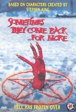 SOMETIMES THEY COME BACK FOR MORE DVD Stephen King Horror Brand New Sealed UK