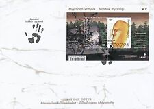 Finland 2008 FDC Sheet - Nordic Mythical Places - Issued March 27, 2008