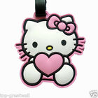 New Pink Kitty cat Silicone Travel Luggage Tags Baggage Tags
