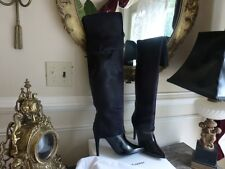 1875 PIERRE HARDY leather ponyhair over the knee boot classy meets sexy AMAZING