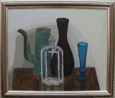"""Elvin Larsson 1913-1995, """"Brandweinflasche"""", verso datiert 1955"""