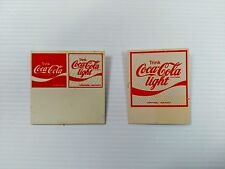 Coca-Cola German Pin-Backs (Set of 2) - UNIQUE ITEM