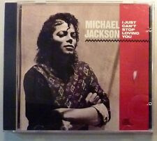 "CD by MICHAEL JACKSON ""I CAN'T STOP LOVING YOU"" PROMO"