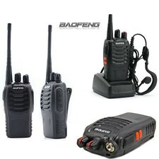 2 un. Baofeng Walkie talkie UHF Radio 400-470MHZ 2-Way 16CH 5W BF-888S de largo alcance