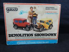 Galoob Demolition Showdown Radio Control  IN BOX WITH INSTRUCTIONS VINTAGE TOY