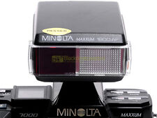 Minolta flash 1800 AF for Minolta cameras with regular shoe. Guide Number 18.