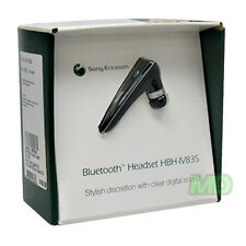 NEW OEM Sony Ericsson HBH-IV835 DSP Black Bluetooth Headset in Retail Original