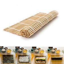 24*24cm DIY Sushi Rolling Maker Bamboo Material Roller Mat Kitchen non-stick