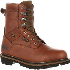 New ROCKY RANGER WATERPROOF WORK BOOT Size 11.5 M US RKK0065IA Brown