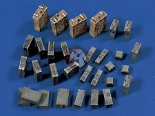 Verlinden 1/35 German 10.5cm Artillery Baskets, FlaK / PaK & Tool Ammo Boxes 569
