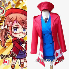 APH Axis Powers Hetalia Canada Matthew Williams Cosplay Costume