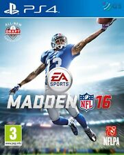 Madden NFL 16 PS4 * NEW SEALED PAL *
