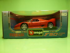 BBURAGO 3362 FERRARI F50 HARD TOP 1995 PININFARINA - RED 1:18
