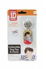 One Direction 1D Louis Dog Tag Chain Necklace Unisex Accessories