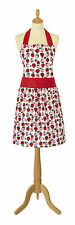 NEW Ulster Weavers Horrockses Brigette Strawberries Shaped Cotton Apron