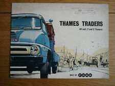 FORD THAMES TRUCK LORRY 30 CWT. 2 and 3 TON models, 1958/9  Brochure jm