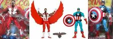 CAPTAIN AMERICA FALCON HASBRO MARVEL UNIVERSE GREATEST BATTLES 2 PACK 3-3/4 3.75