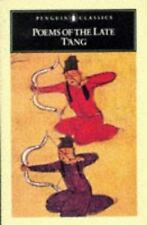 Poems of the Late T'ang (Unesco Collection of Representative Works :, Chinese S