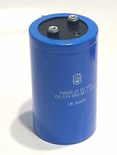 15000UF 63V HI RIPPLE BHC UK MADE VINTAGE ELECTROLYTIC POWER CAPACITOR    fd5e15