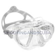 Cressi NANO Crystal Silicone Mask - Clear for Scuba Swimming Freediving