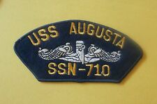 USS Augusta SSN-710 - New Military Iron-On Patch