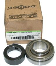 """UP TO 4 NEW DODGE 131438 1"""" INSERT COLLAR BEARINGS INS-SXV-100"""