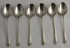 Pretty set of Six Solid Silver Coffee Spoons