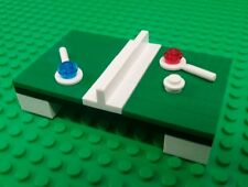 *NEW* Lego Custom Green Table Tennis Table Paddles Ball for Minifigures Figures