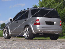 MERCEDES ML W163 ROOF SPOILER