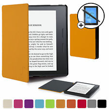 Forefront Cases® Yellow Smart Case Cover Amazon Kindle Oasis Screen Prot Stylus