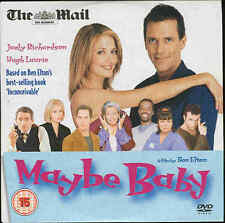 MAYBE BABY - Starring Hugh Laurie & Joely Richardson - Great RomCom - DVD